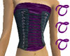 TTT Purple Velvet Top