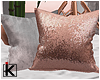 |K 💎 Blush Pillows