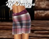 TK-Dark Plaid Shorts F