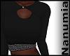 elegant black top
