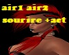 coiffure air red