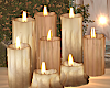 Romantic Fall Candles