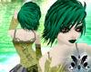 Green star hair!