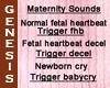 Maternity Fetal sounds