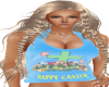 Easter Top Blue