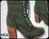 ʞ- Olive Boots