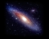 Neon Andromeda Galaxy