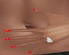 Red Nails w/ Stars