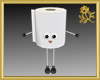 Ms. Toilet Paper Roll