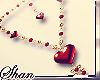 SsU* Hearted Necklace