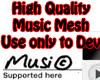 HQ Music Mesh