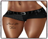 BV Black Hot Pants