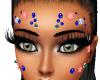Face Flowers & Gems