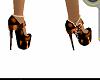 scarpe orange lucide