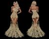 Glamour Gold Dress