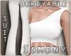 [Is] OneShoulder Suit Dr