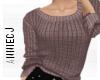 × Wine sweater
