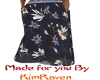 wide leg navy lily