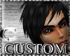 CcC custom hair black
