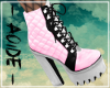 (A) Bunny Pink Boots