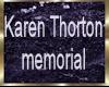 CTG KAREN THORTON MEMOR.
