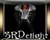 (SR) BLACK LEATHER COAT
