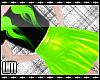 L New World Skirt Green