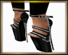 Chained Heels Black