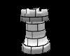 (1M) Chess Tower White