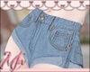 🌸 Short Blue Jeans