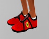 Shoes ferrari red