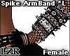 Spike Arm Band *L Fem