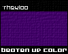 [tk] beaten up- scarf