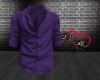 Open Shirt -Purple