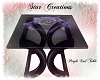 -S- Purple End Table