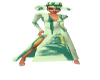 PD Green Paint Hat