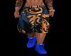 Versace Tupac Shorts