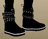Kids Black Boots