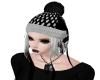 Hat  blk/grey