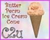 C2u~ ButterPecan Cone