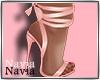 Tie up Heels Pink