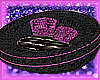 Pink circle couch