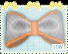 foxy plaid bow