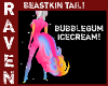 BUBBLEGUM ICECREAM TAIL!
