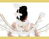 WHITE FLOWER WINGS