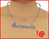 Male necklace w/name