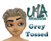 Grey Tossed Hair
