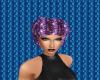 Purple Salon Cap