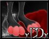 xIDx Peach Dotty Feet M