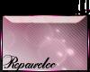 *R* Pink Flare Sticker